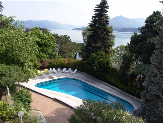 renovated villa overlooking Lake Maggiore luxury homes