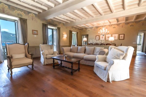 completely renovated period villa on Lake Maggiore  luxury real estate