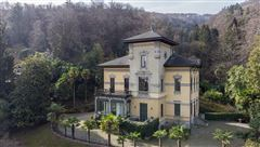 Luxury homes in historic villa in art nouveau style