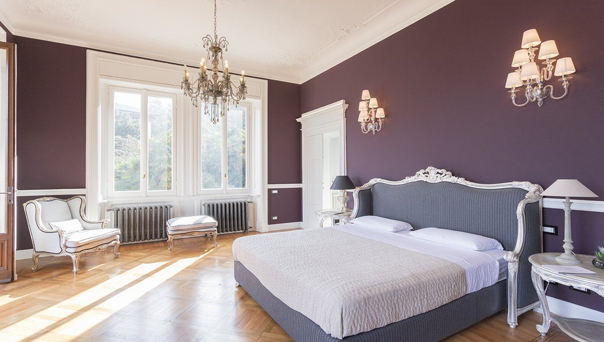 Mansions historic italian villa in art nouveau style