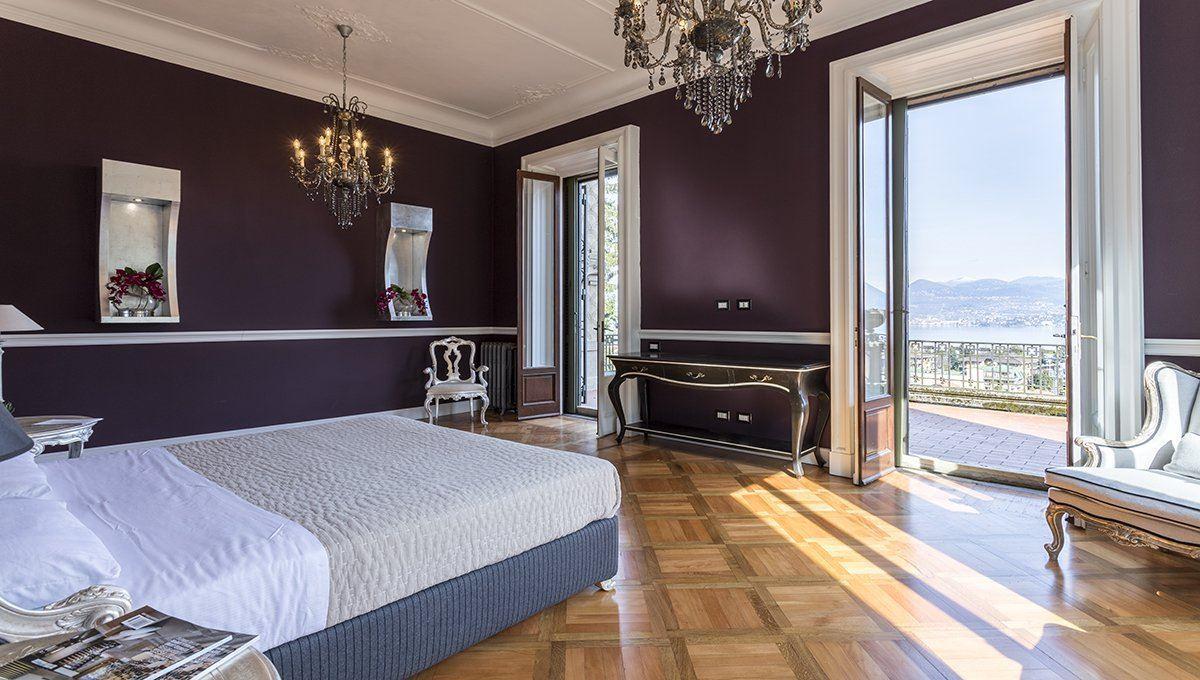Luxury homes in historic italian villa in art nouveau style