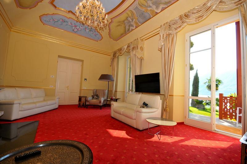 Majestic Villa in Ghiffa luxury homes