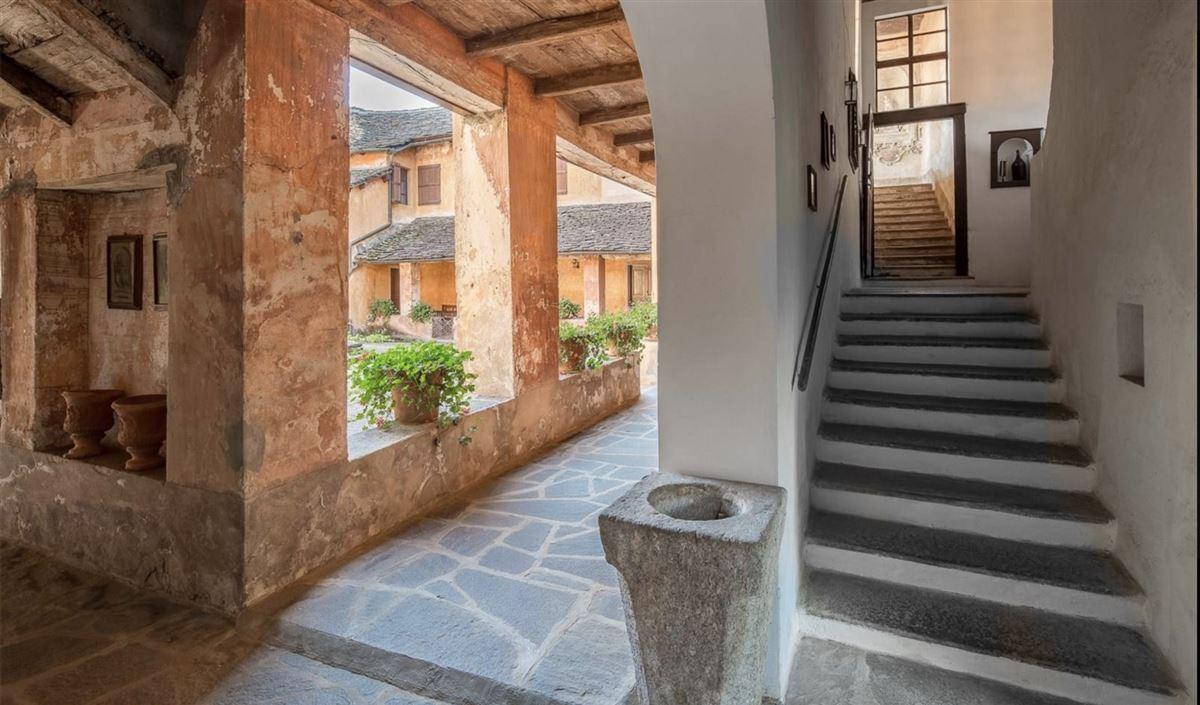 historic 1600s residence overlooking Lake Orta luxury homes