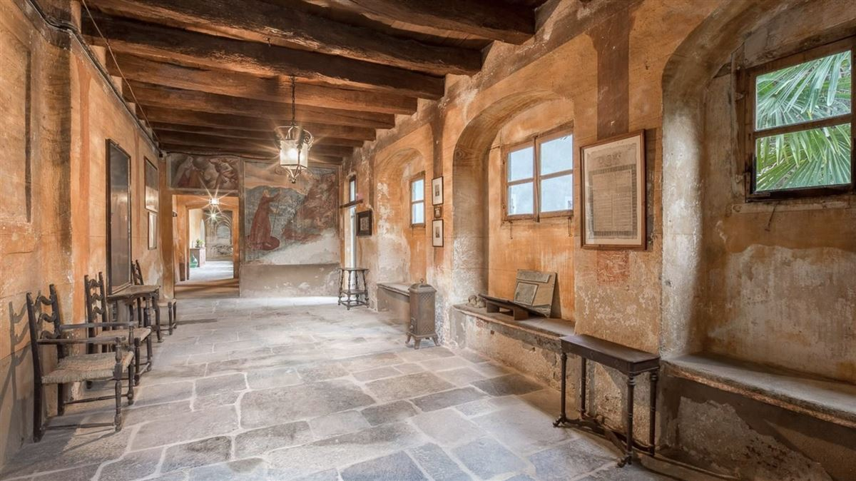 Luxury real estate historic 1600s residence overlooking Lake Orta