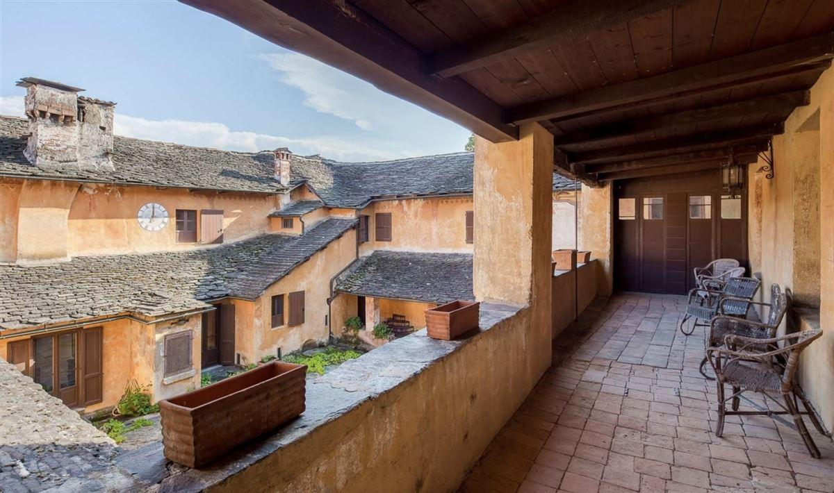 historic 1600s residence overlooking Lake Orta luxury real estate