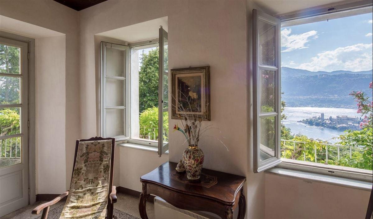 Luxury properties historic 1600s residence overlooking Lake Orta