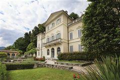 carefully restored villa in orta mansions