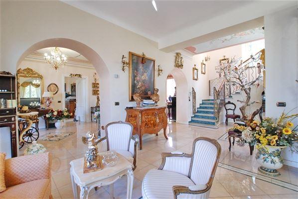 Luxury real estate completely restored historic villa