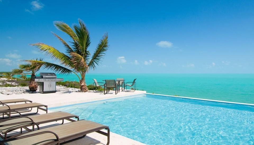 Luxury homes in Oceanfront Breezy Villa in Providenciales