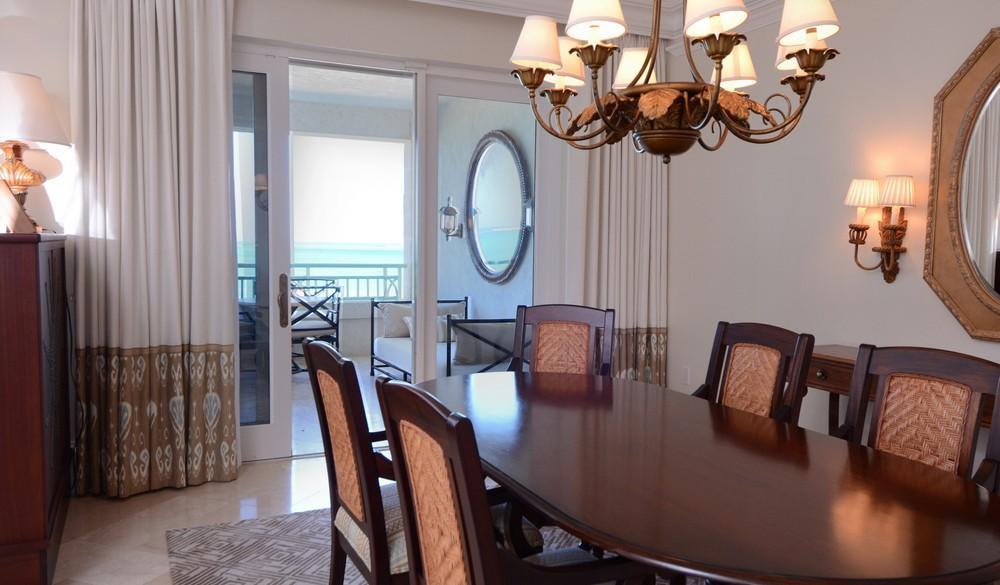 Luxury homes The Palms Turks and Caicos Beachfront Condo
