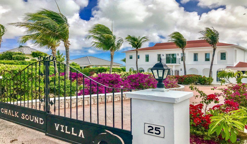 Luxury real estate Chalk Sound Villa