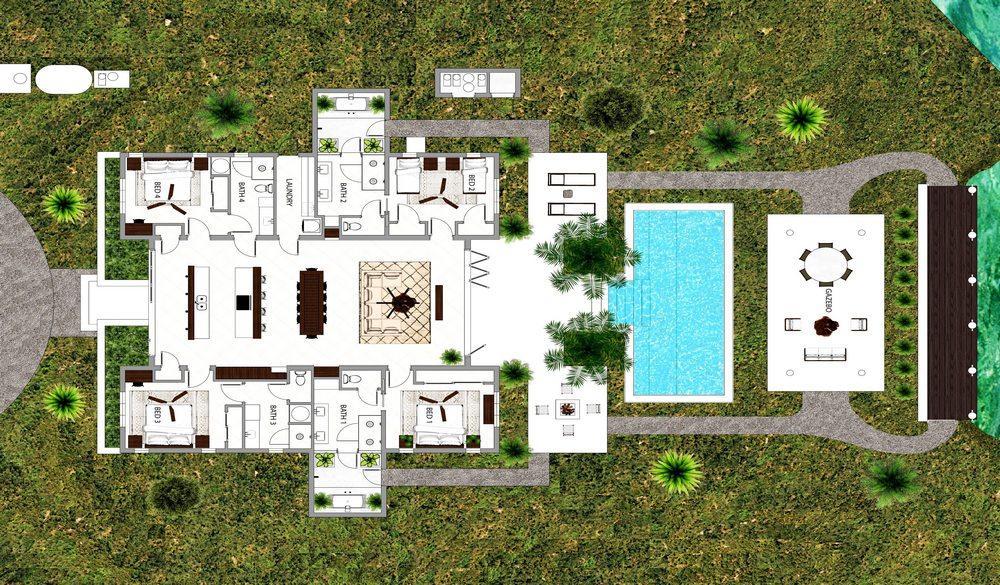 Luxury real estate Leeward Canal Villa