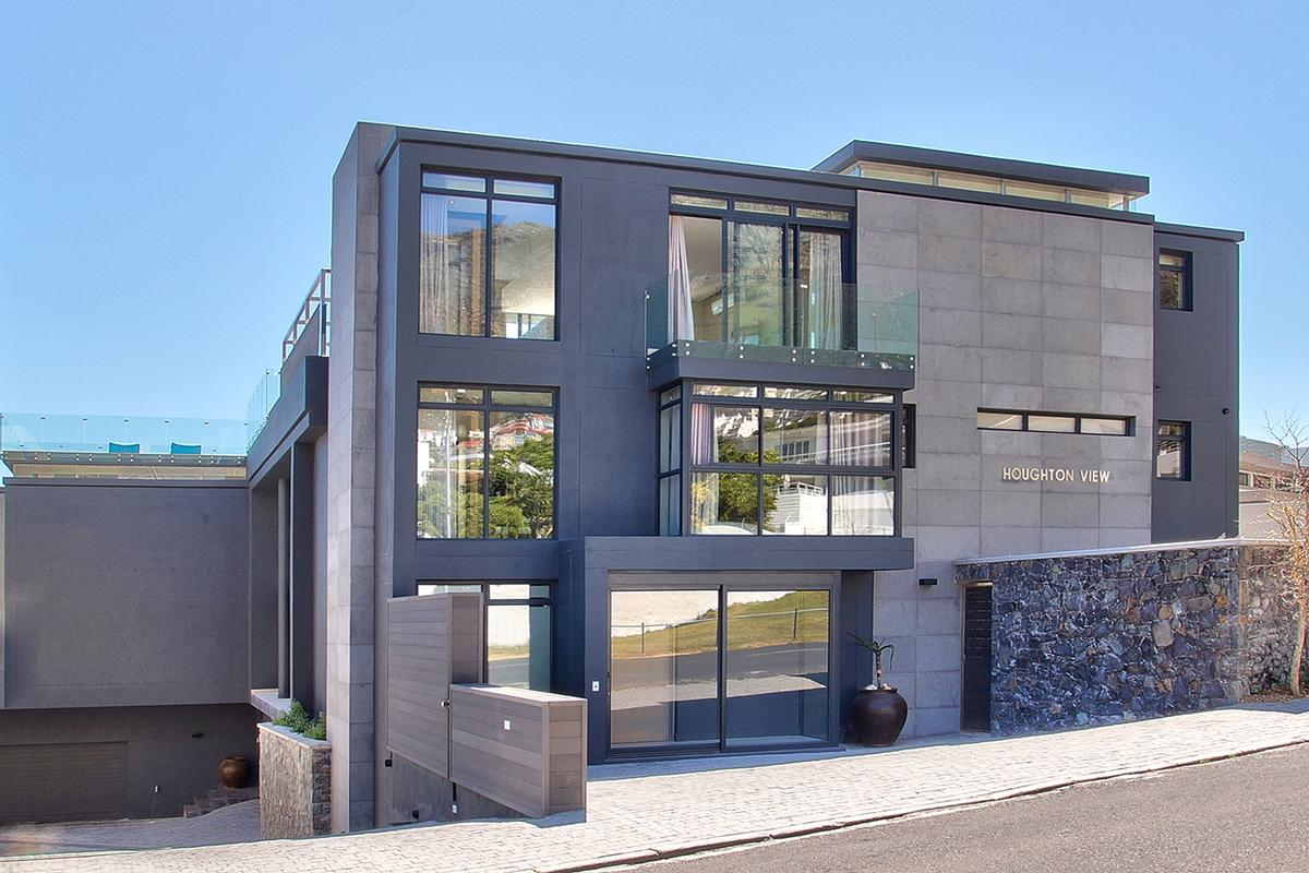 Camps bay promenade contemporary villa luxury south african homes