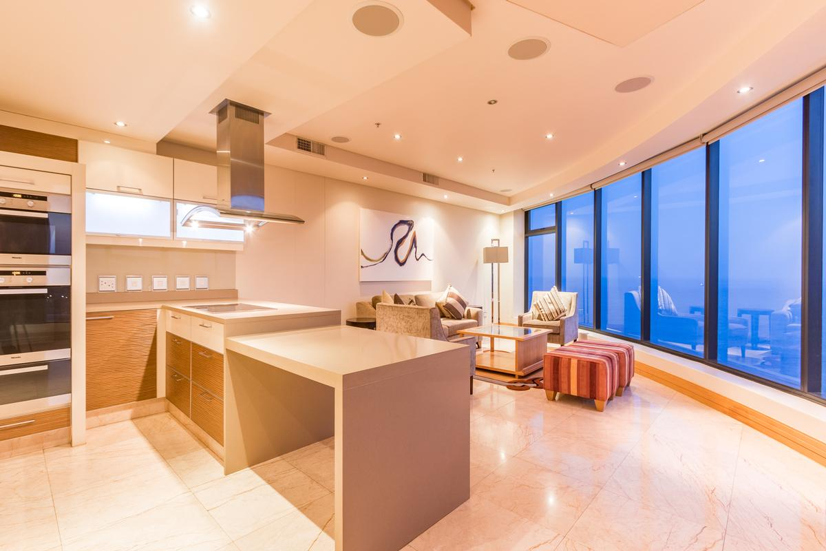 Luxury properties modern Penthouse with sweeping views
