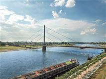 Luxury properties this amazing penthouse boasts views over the rhine