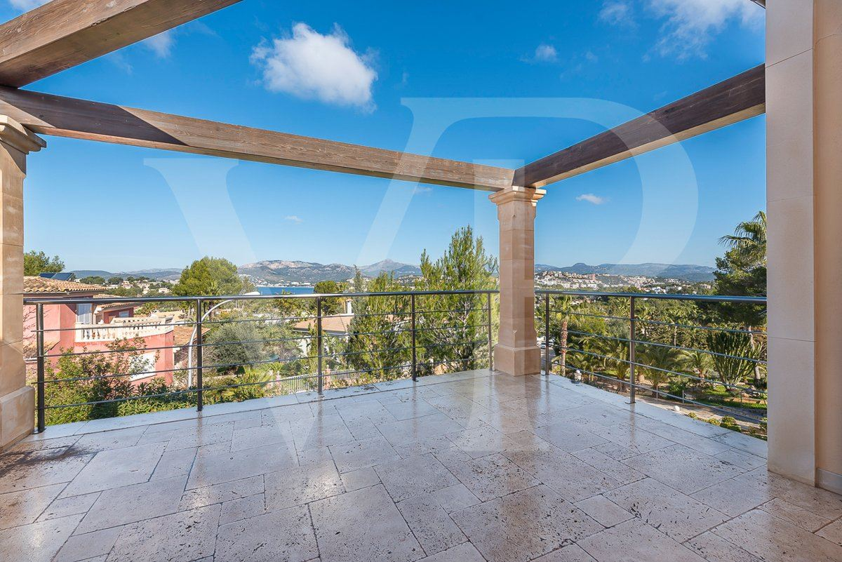 beautiful santa ponsa home with sea and hills view mansions