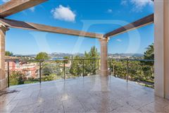 Luxury homes in beautiful santa ponsa home with sea and hills view