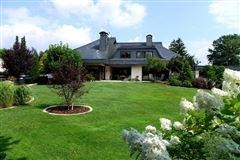 stately villa set on beautiful grounds mansions