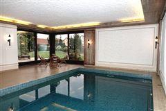 Luxury homes  stately villa set on beautiful grounds