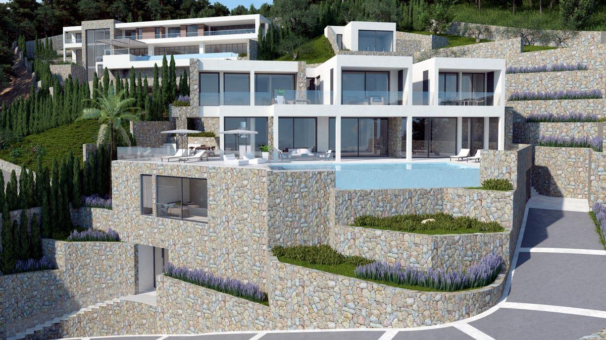 Luxury homes brand new contemporary luxury home