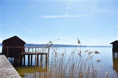 superb lakefront lot with enchanting hunting lodge luxury properties