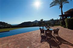 High-quality Andalusian style villa with sea view mansions
