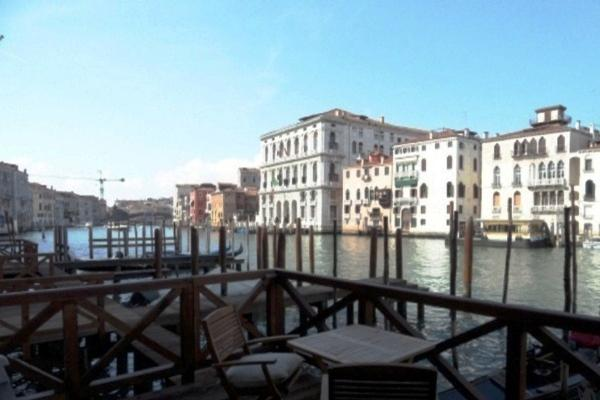 The terrace on the Grand Canal luxury homes
