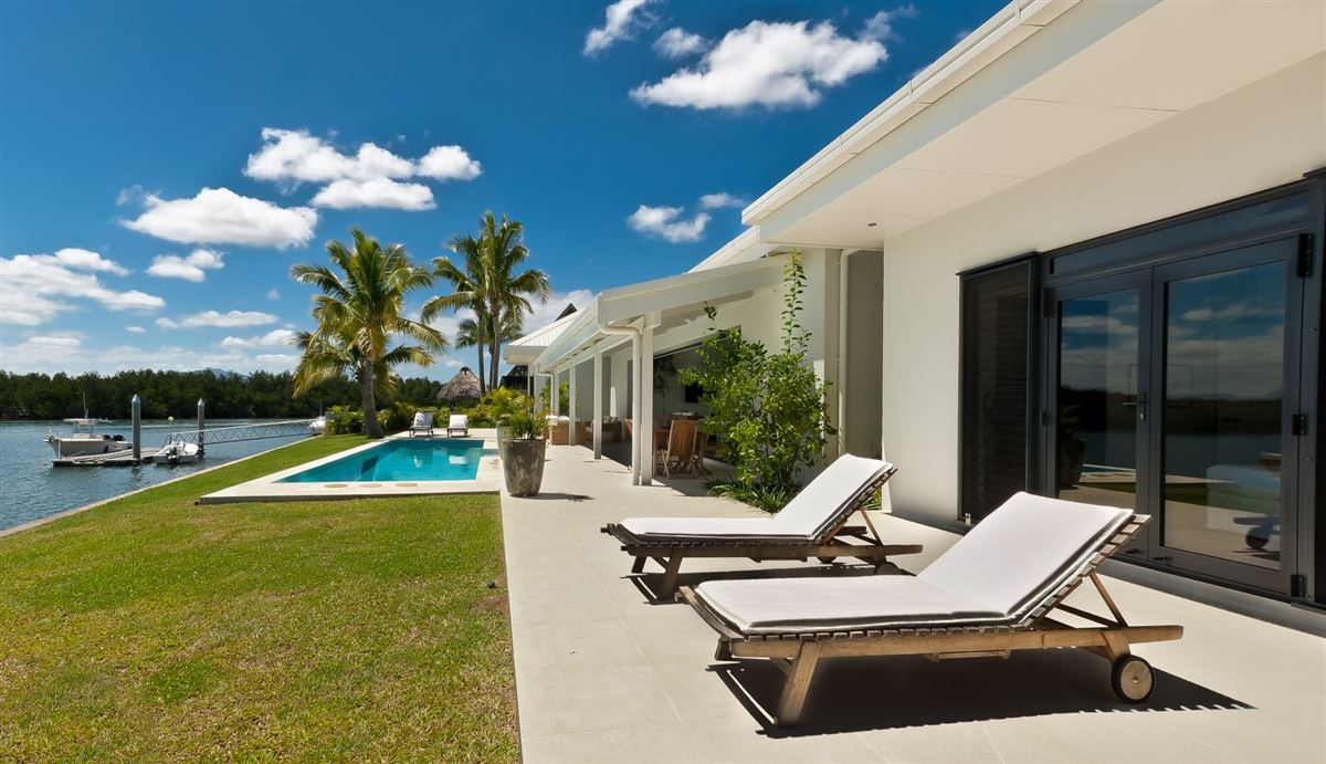Private High Quality Home in fiji luxury real estate
