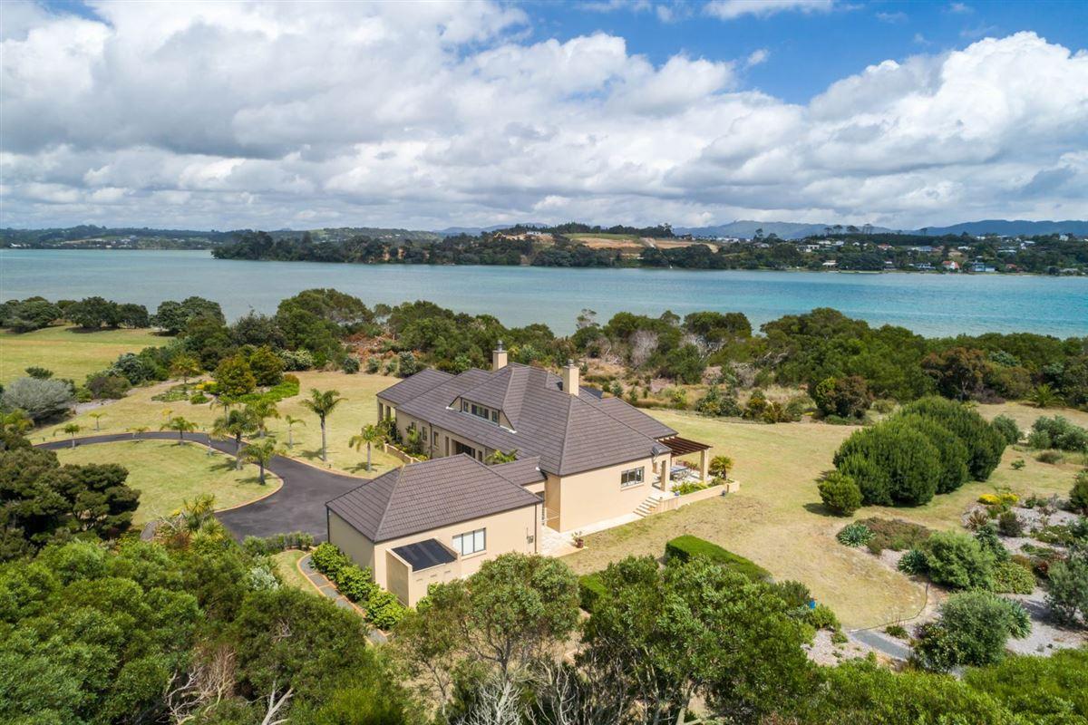 Absolute waterfront grandeur luxury real estate