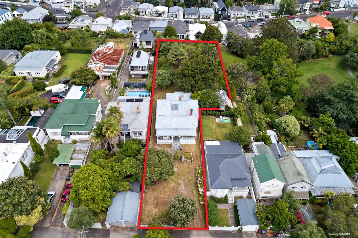 Luxury homes One of the last big pieces of land in Ponsonby