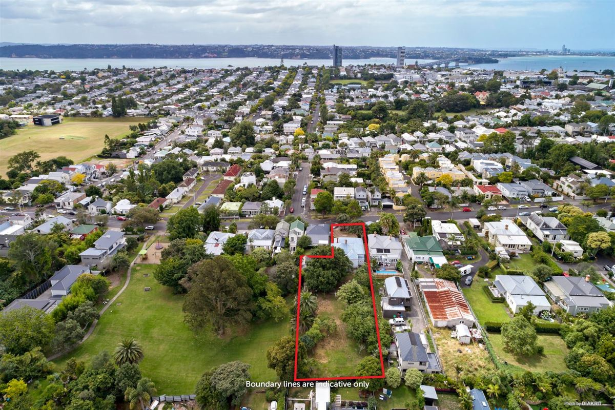 One of the last big pieces of land in Ponsonby luxury homes