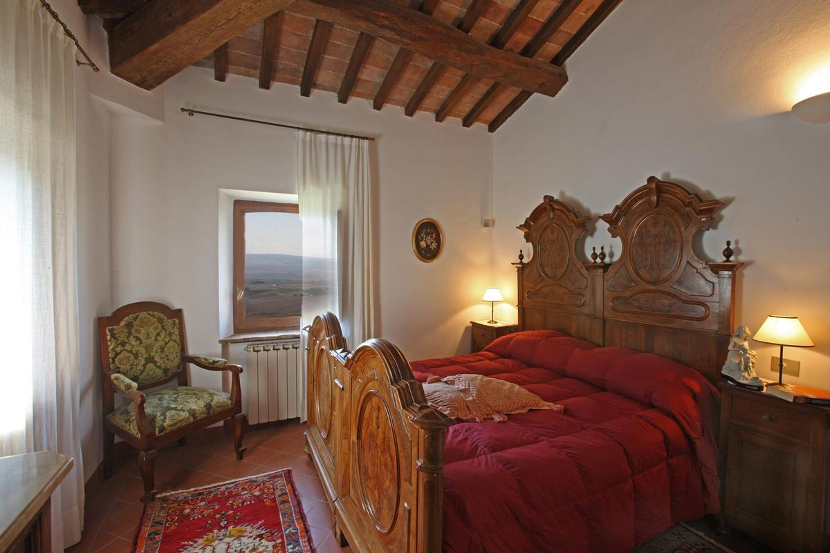 Mansions in  countryhouse with panoramic views valdorcia