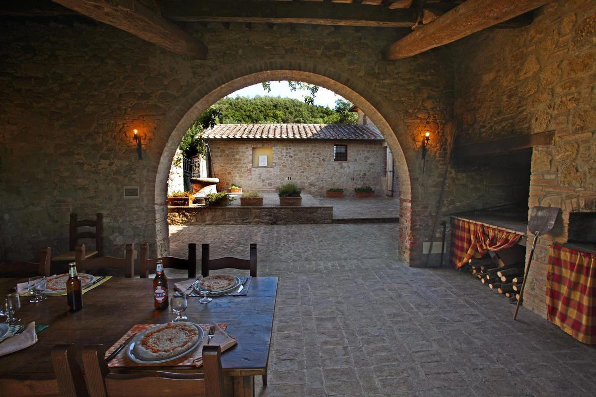 Mansions  countryhouse with panoramic views valdorcia