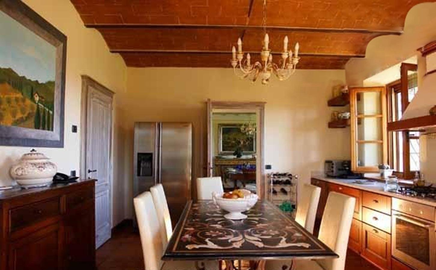Mansions  VILLA IL MELOGRANO TUSCANY