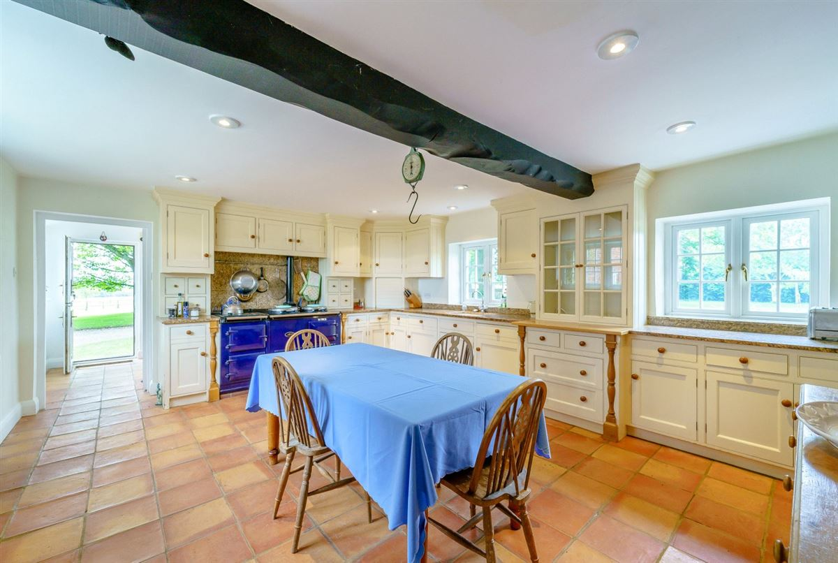 A characterful farmhouse with equestrian facilities luxury properties