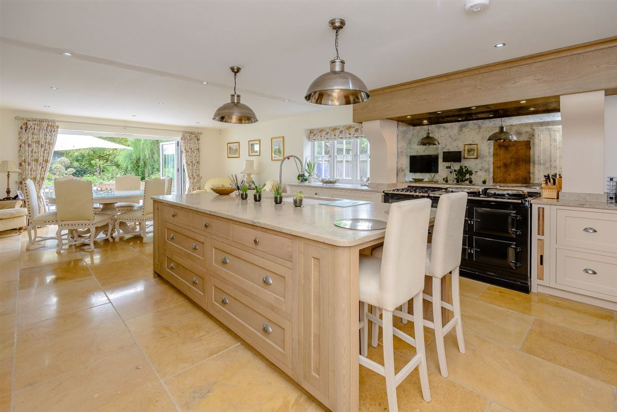 Luxury homes A superb modern home in an edge of village location