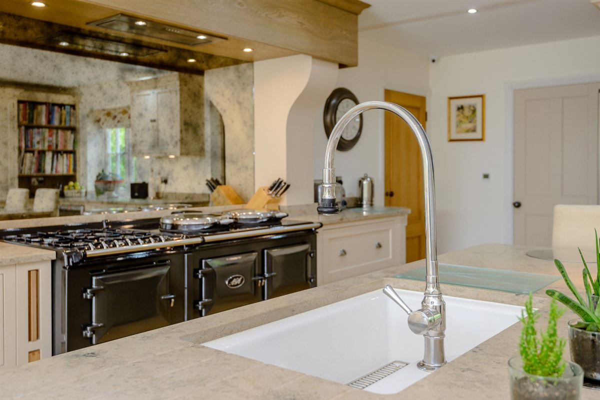 Luxury real estate A superb modern home in an edge of village location