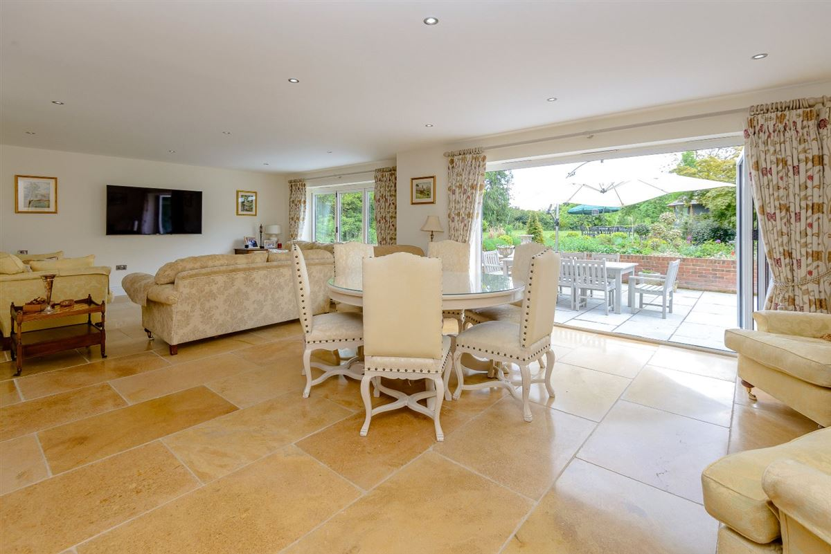 A superb modern home in an edge of village location luxury properties