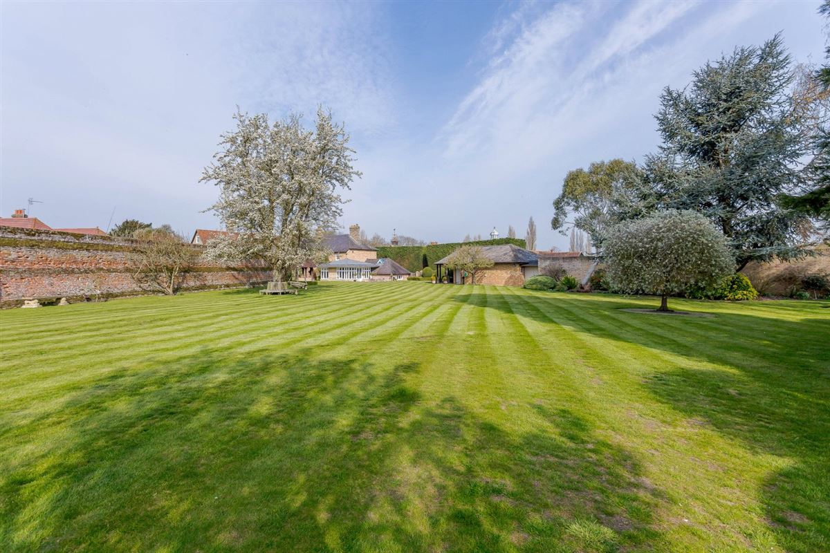 Luxury real estate Nine Ashes Farmhouse is a substantial property on lovely grounds