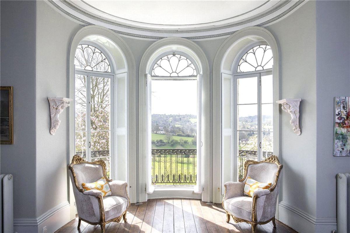 Luxury homes magnificent Georgian villa