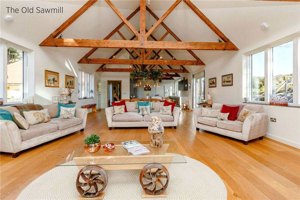 Renovated Former Sawmill luxury homes