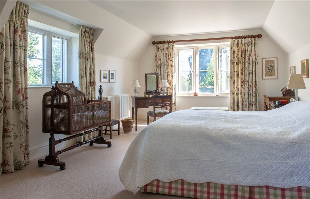 Luxury real estate A charming Old Rectory with a beautiful garden