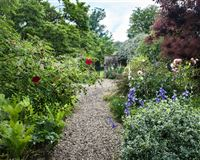 A charming Old Rectory with a beautiful garden mansions