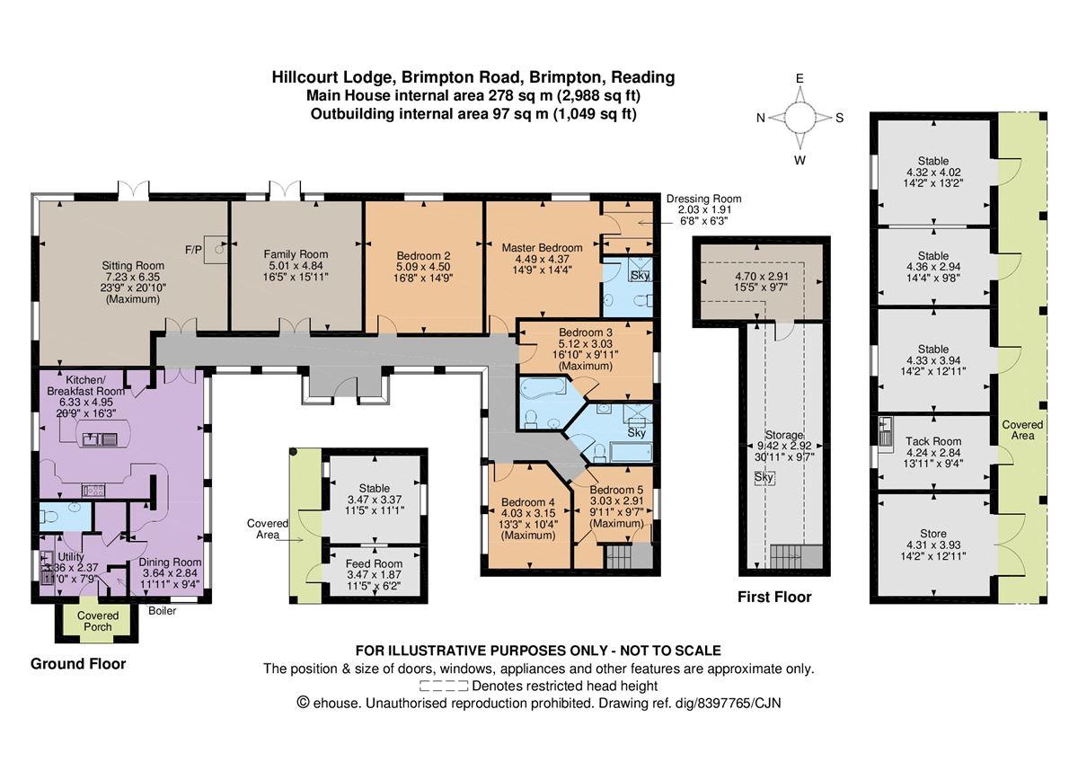 Luxury homes Hillcourt Lodge