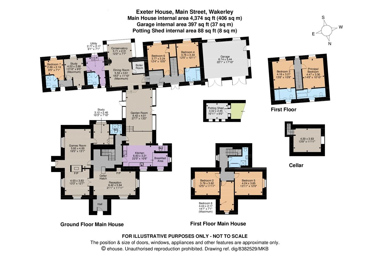 Luxury homes in Exeter House