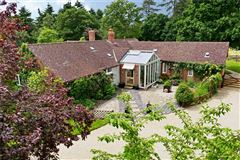 Mansions an attractive and spacious property beautifully sited