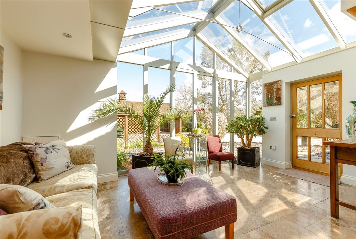 Luxury homes an attractive and spacious property beautifully sited