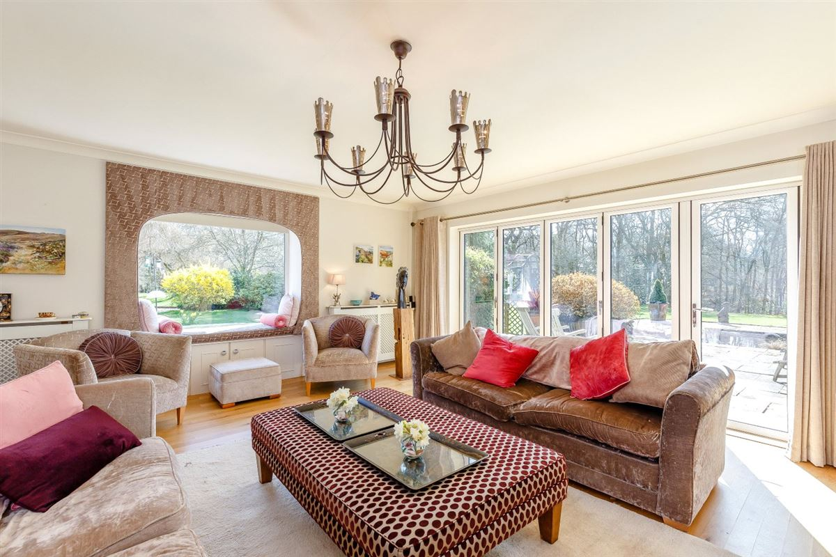 Luxury properties an attractive and spacious property beautifully sited
