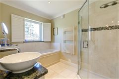 Luxury real estate an attractive and spacious property beautifully sited