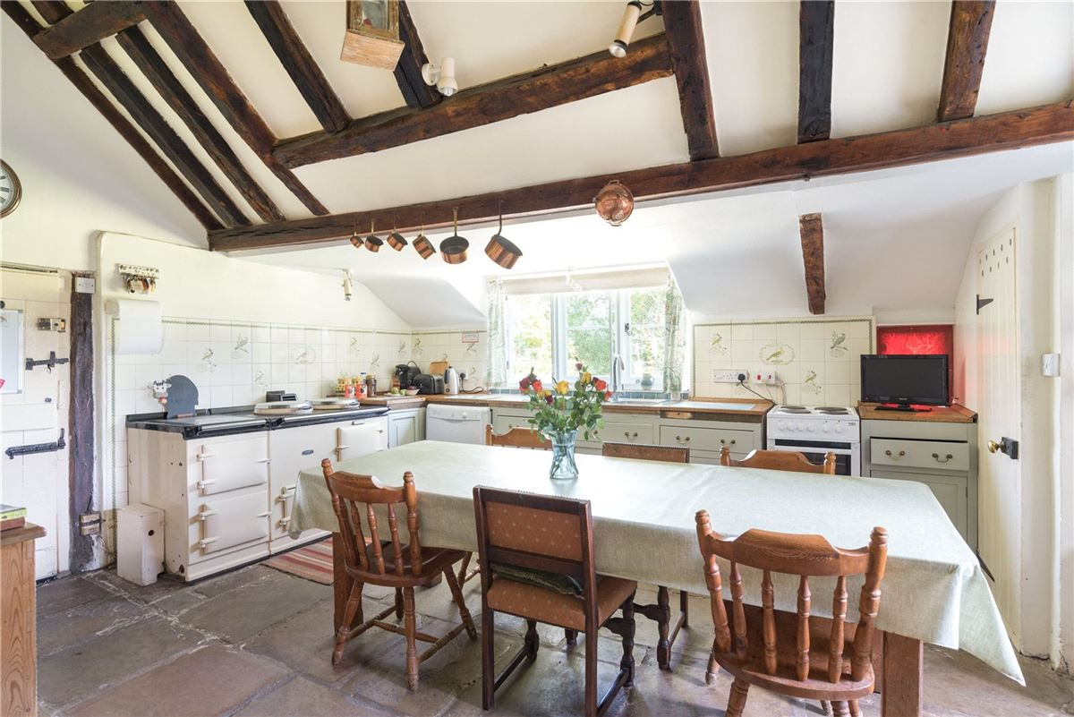 A wonderful and historic farmhouse with traditional stables and a Kentish barn mansions